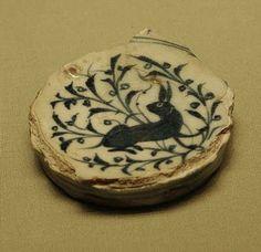 Rabbit Ceramic - Egyptian - Louvre Museum, Paris, France - 14th century rabbit