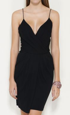 DONNA KARAN -  Black Dress