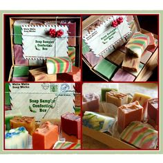 Soap Confection Sampler Box, set of 8 soaps only $14.00 - featured on SassySteals.com