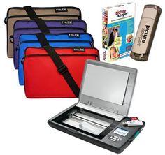 Flip-Pal mobile scanner, Deluxe Flip-Pal mobile scanner Carry Case, Picture Keeper PK 8 #flippal #scanners
