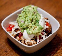 Homemade Chipotle Burrito Bowls...