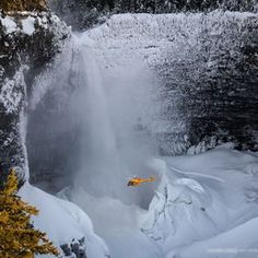 photo helmcken, winter, canada, waterfal, snow, parks, grey, viktoria haack, natur photographi