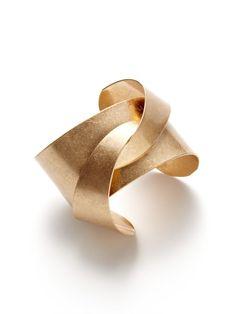 Soo Ihn Kim Jewelry Gold Jinx Cuff Bracelet - $35