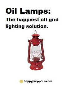 Prepper Survival: Light up the night with a little charm from yesteryear...oil lamps! See also http://beprepared.com/essential-gear/lighting.html for other lighting solutions! http://www.happypreppers.com/oil-lamps.html