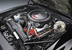 Here's what's under the hood of the 1969 Chevy Camaro: A 396 c.i. 375 hp (L-78) engine. http://www.winthecamaros.com