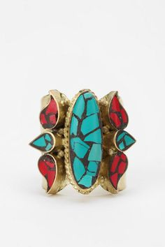 not a big fan of gold,, but I love me some turquoise & jasper