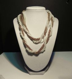 Vintage Multi Pearl and Multi Chain Necklace / by GemmaBejeweled, $24.00