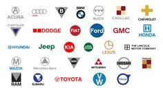 Automotive Logos - Simplified.