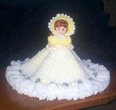 Free Bed Doll Patterns | ... ANN BED DOLL PATTERN BY RICOCHET 1950 | Crochet Bed Doll Patterns Free