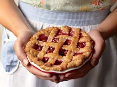 Teeny Lamothe's Sour Cherry Pie | Serious Eats : Recipes One day I will actually make a pie, and this homemade sour cherry pie seems like an excellent place to start.
