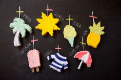 The Best DIY Mini Summer Time Piñatas!