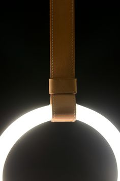leather detail light