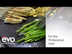 Evo Circular Cooktops - For the Professional Chef
