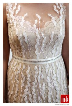 bridal gown by Veluz