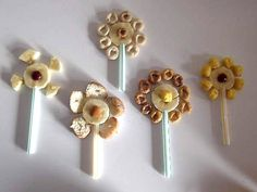 edible flower craft for kids | Creative Edible Crafts for Kids