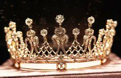 "Made circa 1880, the Mike Todd Antique Diamond Tiara was given to Elizabeth Taylor in 1957. ""You are my queen,"" he told her when he presented her with the tiara."