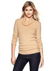 Cowl Sweater in Cashew Crunch| Gap