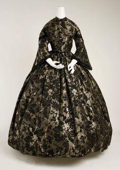 1850's dress