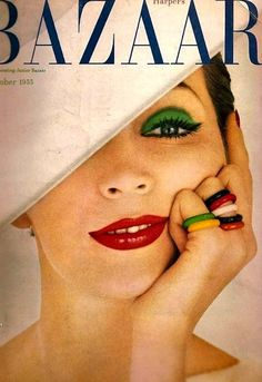 Richard Avedon, dovima, cover Harpers Bazaar october 1955
