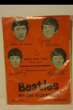 One of the various versions of Beatles stockings