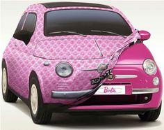 Barbie FIAT #fiat #saffordfiatfredericksburg #barbiefiat