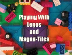 The Chocolate Muffin Tree: Legos and Magna Tiles: Small World Play