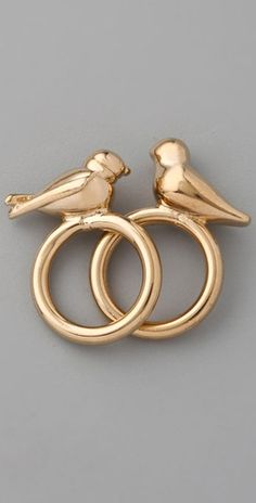 Marc by Marc Jacobs  Love Dove & Snow Bunting Rings