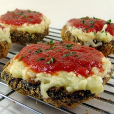 Baked Portobello Parmesan - A Dieters Delight - Foodie Friday