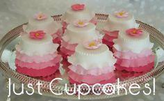 ballerina ruffles mini cake