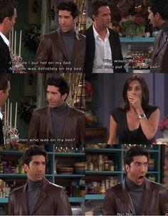 Ross Geller and Monica Geller