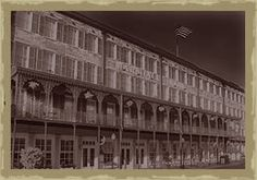 Haunted places in Savannah: The Marshall House Hotel