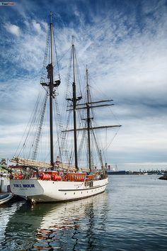 Sail Boat, Long Beach - California