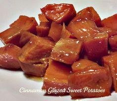 Apple cinnamon glazed sweet potatoes