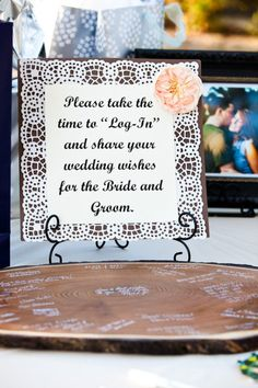 Yet another clever alternative to a guest book!