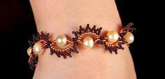 Free pattern for beaded bracelet Peles | Beads Magic