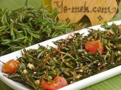 Zahter Salatası (Kekik Salatası) Tarifi