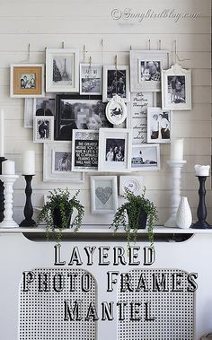 A different gallery wall! #home #decor