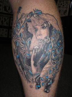 The birds stevie nicks and the o 39 jays on pinterest for Mac tattoo my heart