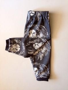 Lion Lionel Lions Organic Cotton Jersey Knit Pants by IndieNook, $28.00