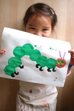 The Very Hungry Caterpillar #craft