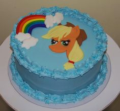 My Little Pony Applejack Cake