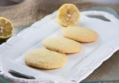 #glutenfree #dairyfree Lemon Sugar Cookies
