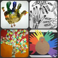 Handprint artwork & its value for young children (explained in blog post).