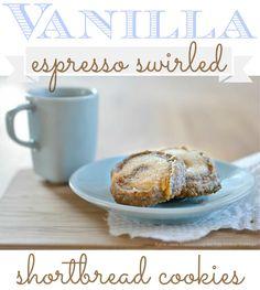 Delicious Cookie Recipes ... Vanilla espresso shortbread cookie recipe