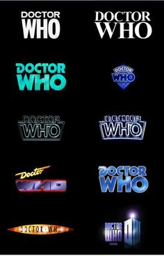 I'm a fan. Especially the sweet '80s one from the Seventh Doctor.  There are actually technically more than just these ten, but they're the main designs.