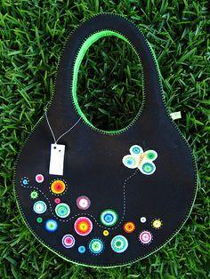 felt & buttons