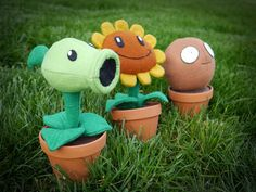 Plants vs. Zombies Plushes