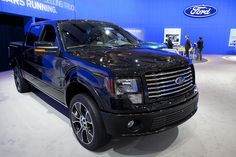 The Ford F-150 Harley-Davidson Edition at the 2012 Canadian International Auto Show in Toronto.