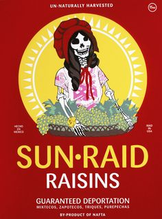 Ester Hernandez  Sun Raid, 2008  Screenprint
