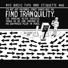 NY etiquette